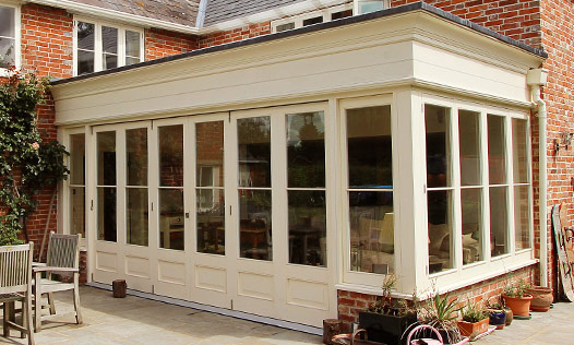 The Orangery. Custom made, hand-crafted joinery, by Mounts Hill.